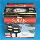 Intermatic Malibu LZ10130-6 6 Sun-Powered Solar Metal Amber LED Accent Lights